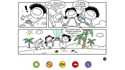 Léon bande dessinéeCapture d'écran de 4
