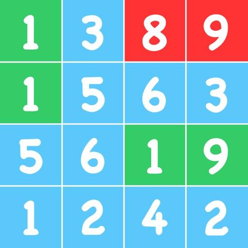TenPair - The game of numbers! iOS App