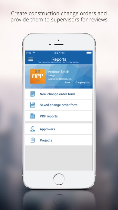 Construction Change Order App On The App Store