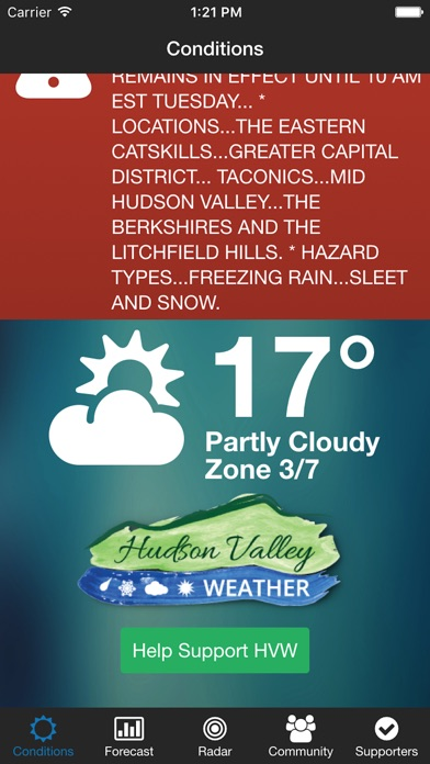 Hudson Valley Weather review screenshots