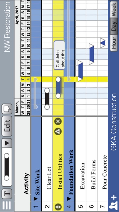Screenshot of PlanNext - Project Management & Project Schedule3