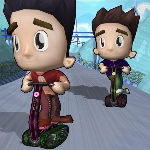 Snow Scooter Rider Kids - Top 3D Snow Bike Scooter iOS App