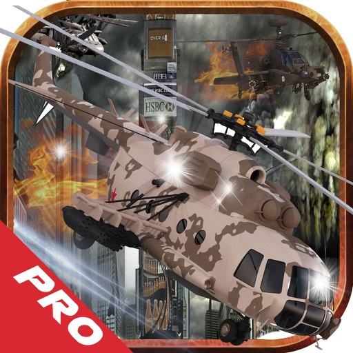 Action Helicopter Fighter PRO : Tireless Flight iOS App