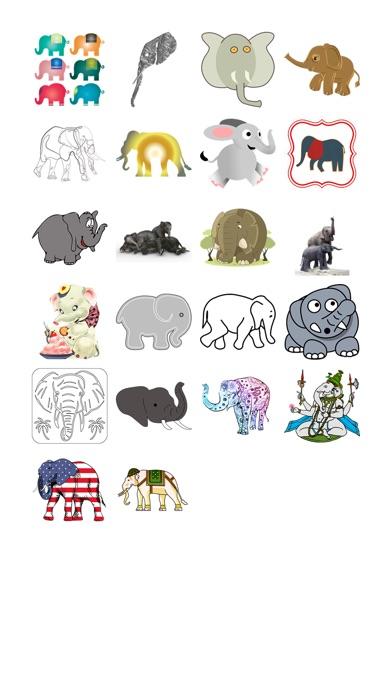 Слон наклейка обновленияСкриншоты 1