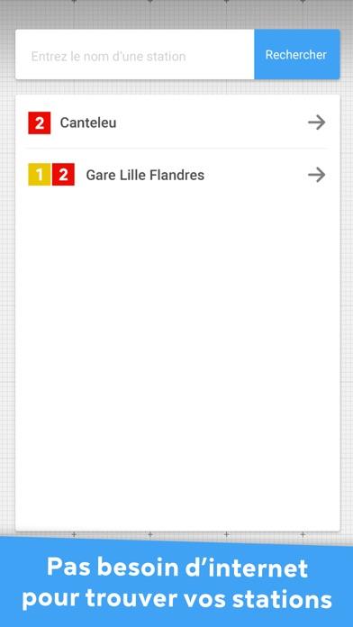 Metro Lille - Toutes les infos TranspoleCapture d'écran de 3