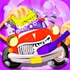儿童游戏 - 卡车小火车登山赛车