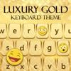 Lusso oro tastiera - Cambiare il tema emoji e font
