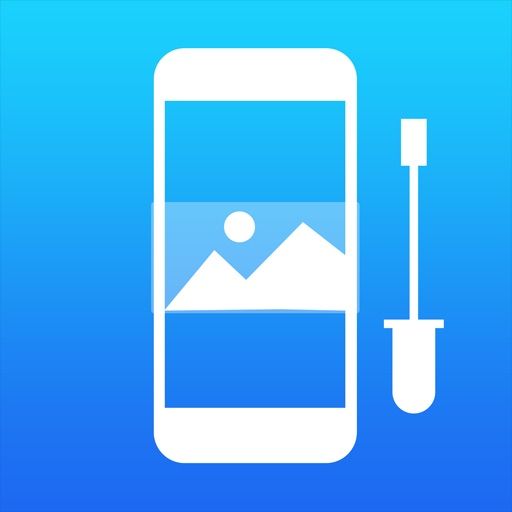 Wallax –  Scale, Resize & Make your own wallpapers for iOS 7