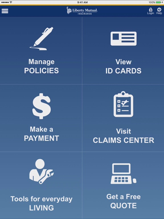 My Liberty Mutual Connection >> Liberty Mutual Mobile On The App Store