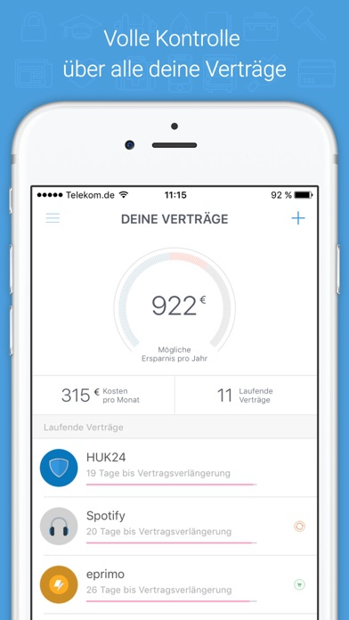 volders – Digitaler Vertragsassistent Screenshot