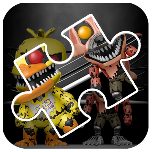 Jigsaw For Five Nights at Freddy's iOS App