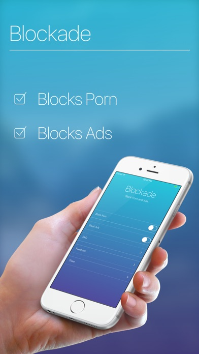 Blockade - Block Porn, Inappropriate Content & Ads Screenshot