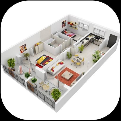 home designs int rieur 3d par syed hussain. Black Bedroom Furniture Sets. Home Design Ideas