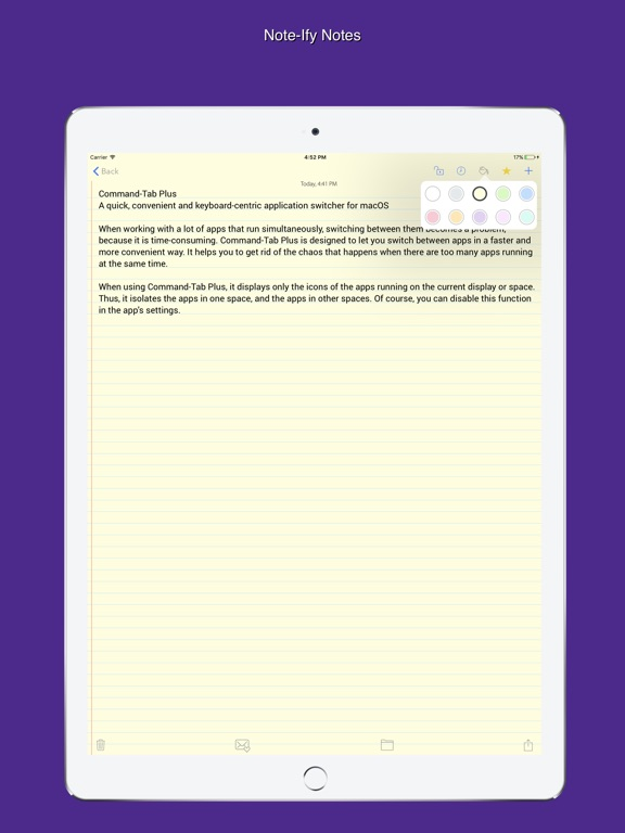 Screenshot #1 for Note-Ify Notes