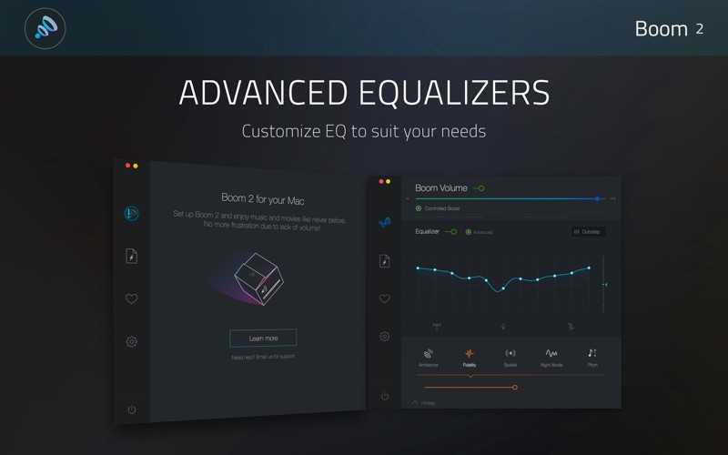 Boom2:Volume Boost & Equalizer Screenshots