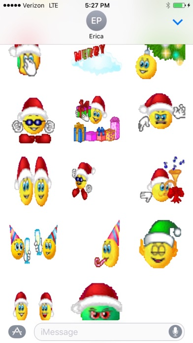 Animated Christmas Smileys on the App Store