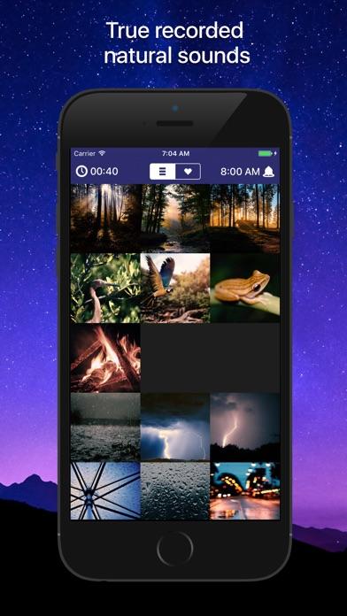 Screenshot Sleep Sounds - Nature, pluie, bruits blancs