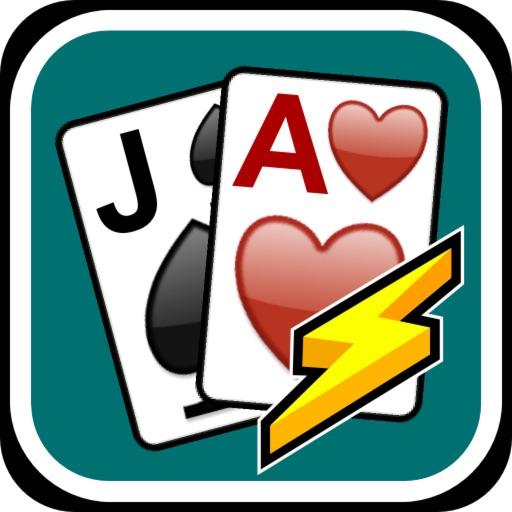 Blackjack Blitz - A Quick and Fun Black Jack Blast iOS App