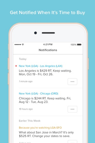 Hopper - Watch & Book Flights screenshot 4