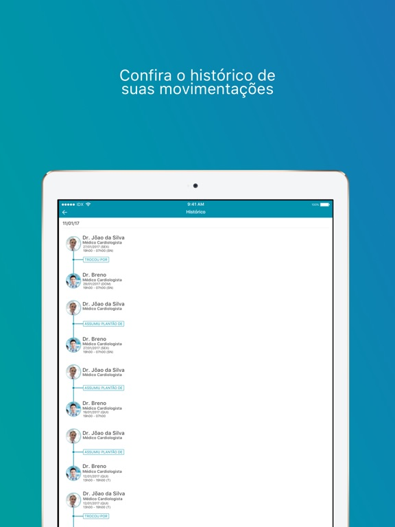 Captura de tela do iPad 5