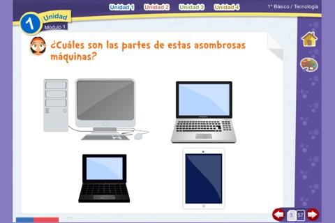 Tecnología 1º Básico screenshot 3