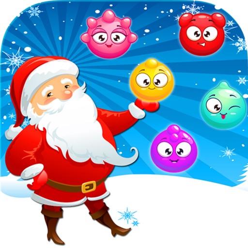 Christmas Ball Santa Pop Game iOS App