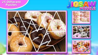 Screenshot #7 for Sweet Donuts Jigsaw Puzzle - Sweet Logic Game