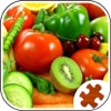 Fruits & Vegetables Jigsaw Puzzle - Fun With Foods foods and