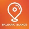 Balearic Islands, Spain - Offline Car GPS