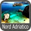 North Adriatic GPS nautical charts fishing maps