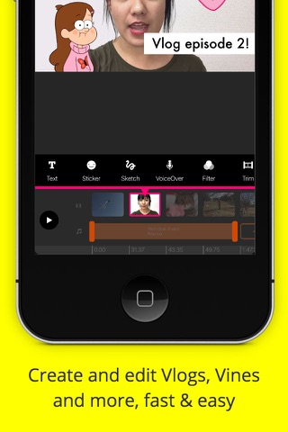 PocketVideo - Video Editor screenshot 1