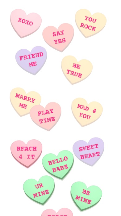 Screenshot #8 for Conversation Hearts XOXO