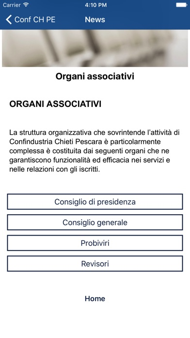 Screenshot of Confindustria Chieti Pescara3
