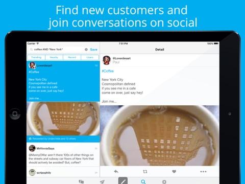 Hootsuite per Social Media Screenshot