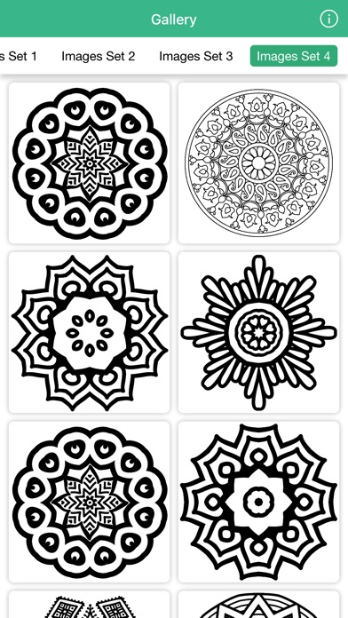 Adults Coloring Book Stress Relief For Mandala On The App Store