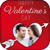 Valentine's Day Photo Frames with stickers & pics