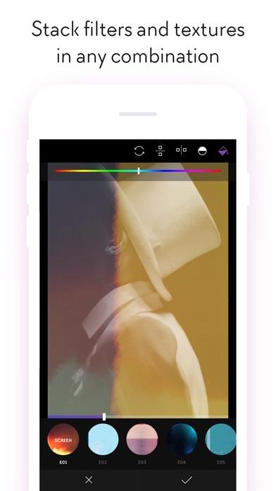 Filterloop Pro - Powerful photo editing app Screenshot