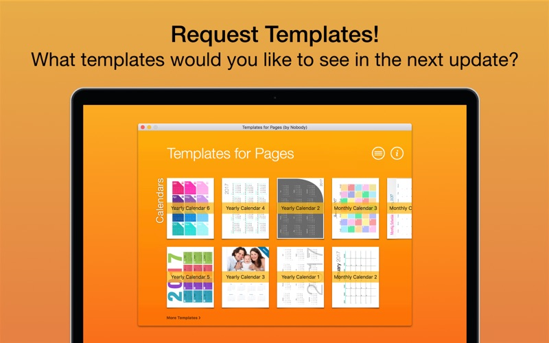Screenshot #4 for Templates for Pages (by Nobody)