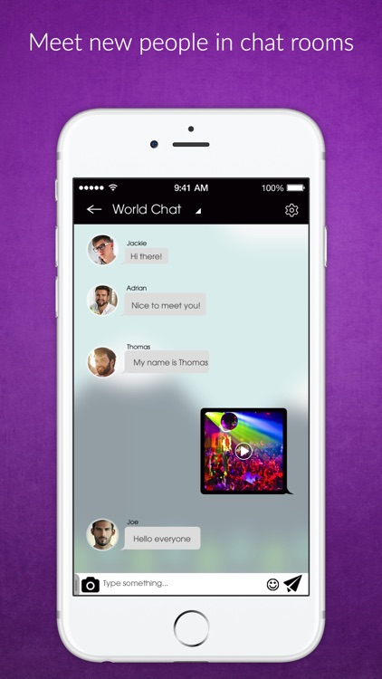 gay chat room iphone