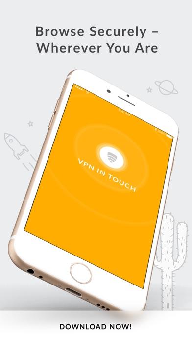 VPN in TouchCapture d'écran de 4
