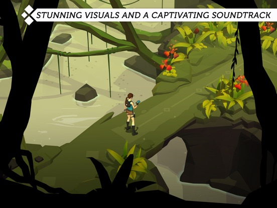 Screenshot #3 for Lara Croft GO