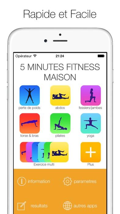 5 minutes fitness maison dans l app store for Application construction maison ipad