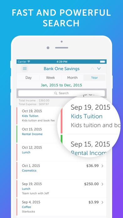 Easy Spending - Money Tracker & Budget Planner Скриншоты4