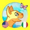Learn Italian & English: Toddler Zoo Animals