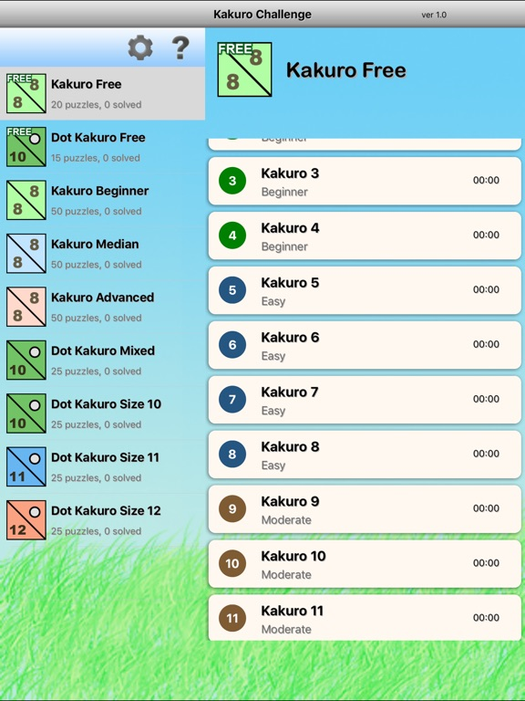 math worksheet : kakuro challenge  cross sums logic puzzle on the app store : Kakuro Cheat Sheet