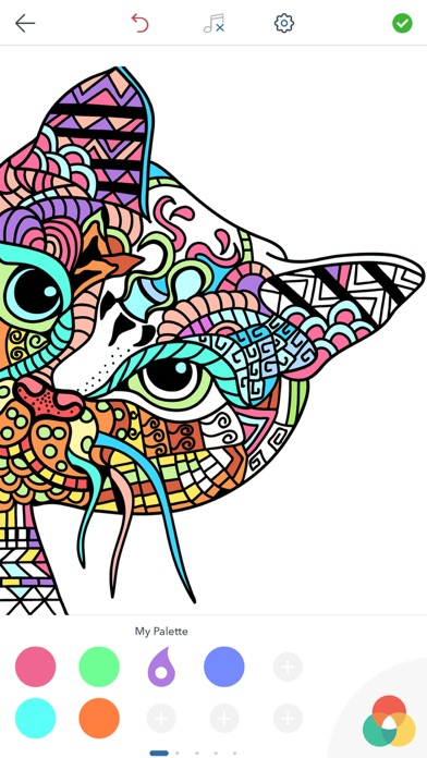 Cat Coloring Pages for Adults on the App Store