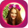 Flower Crown - Photo Collage & Editor for snapchat