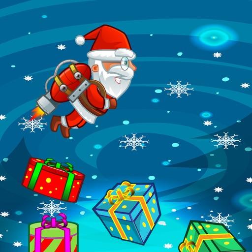 Xmas santa save penguin sky iOS App