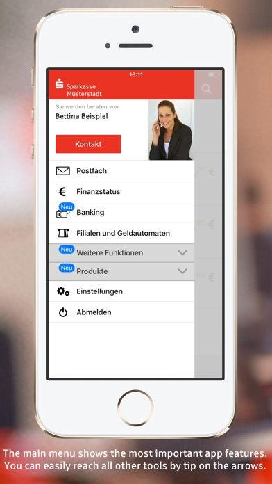 Sparkasse+ Screenshots