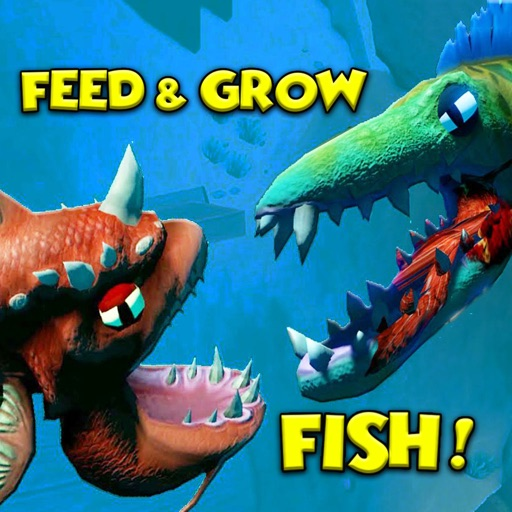 Fish battle feed and grow simulator par mason merrel for Feed and grow fish the game